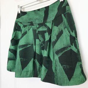 STELLA McCARTNEY silk mini skirt-Sz 2 (fits 0)